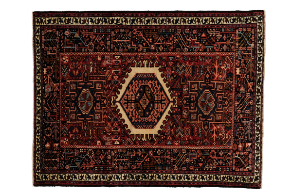 38 by 49 inch Garajah Persian Rug