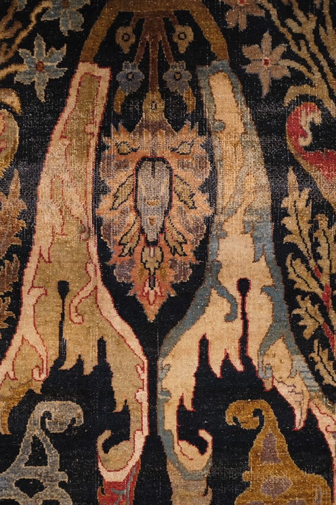 accent piece of rug