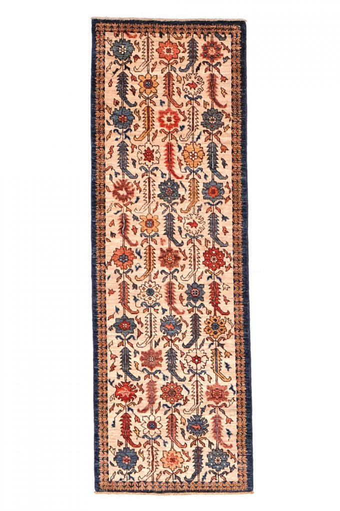 """Green Front Rug 2' 1"""" X 6' 2"""""""